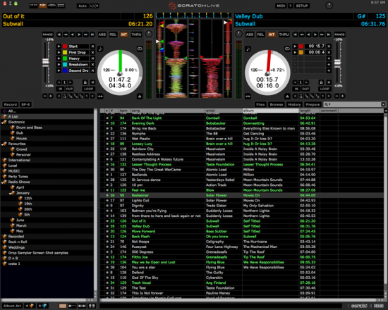 Serato Scratch Live 2.4.1をリリース