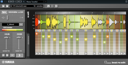 Steinberg Cubase専用のプラグイン「sonote beat re:edit」発売!