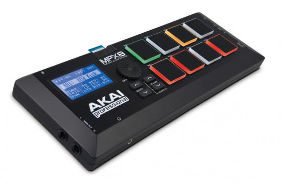 AKAI SDカード・サンプルパッドコントローラ「MPX8」を発売!