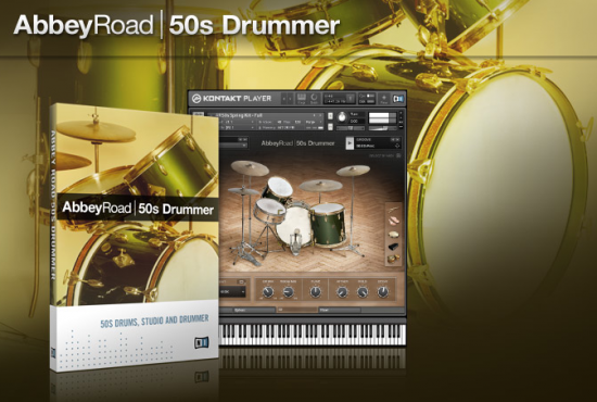 Native Instruments 拡張音源「ABBEY ROAD | 50s DRUMMER」発売!