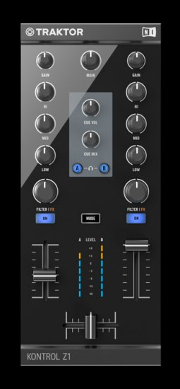 Native Instruments TRAKTOR用ミキシング・インターフェース TRAKTOR KONTROL Z1発売!