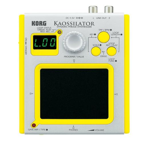 セール情報:AmazonでKORG ダイナミック・フレーズ・シンセサイザー KAOSSILATORが80%OFF!