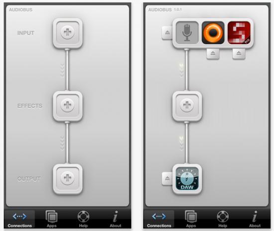 音楽アプリを連結できる神アプリ「Audiobus」
