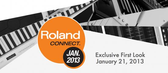 Roland 2013年1月21日に新製品発表か!?
