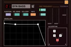 DX7ファンにおすすめ『DXi FM synthesizer』