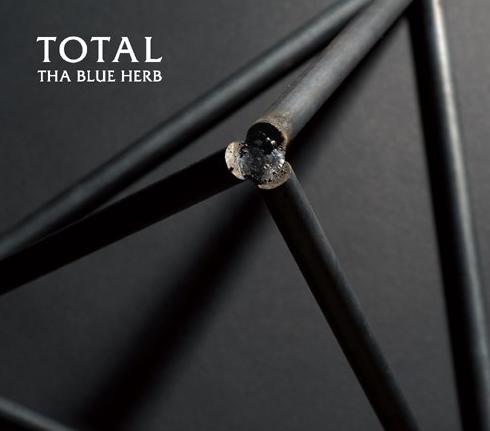 THA BLUE HERBの5年振り4枚目フルアルバム「TOTAL」
