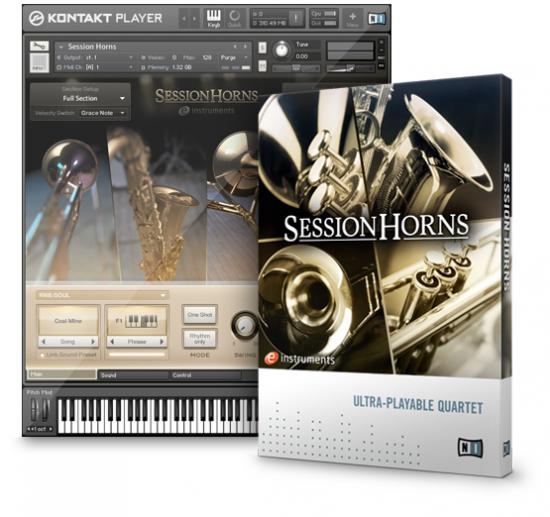 Native Instrumentsから拡張音源「SESSION HORNS」が発表されました!