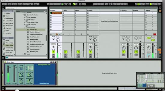 Ableton Maurizio GiriによるグラニュラーMax for Liveエフェクトを公開!