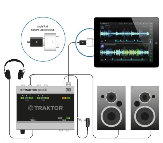 TRAKTORユーザ必見!Native Instruments iPad用DJソフトウェア「TRAKTOR DJ」発売!