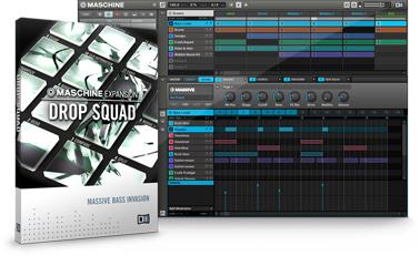 MASCHINEの拡張音源「DROP SQUAD」が発表されました!