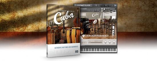 Native Instruments 拡張音源「DISCOVERY SERIES: CUBA」発売!