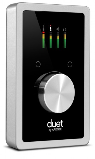 Apogee iPadにも対応したオーディオインターフェース「Duet for iPad/Mac」発売!