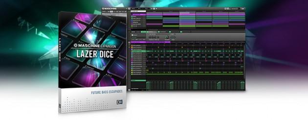 Native Instruments フューチャーベース MASCHINE EXPANSION「LAZER DICE」発売!