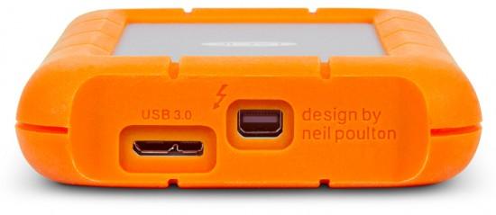 """Thunderbolt,USB3.0を搭載したHDD """"LaCie ruggedシリーズ""""の新モデルを発売!"""