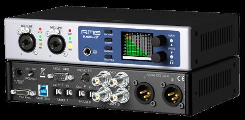 RME 世界初USB3のオーディオ・インターフェイス MADIface XT発表!