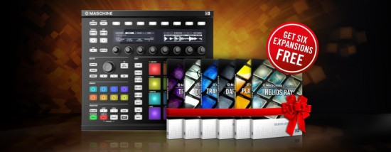 Native Instruments 期間限定:MASCHINEまたはMASCHINE MIKRO購入でExpansionsを無償ゲット!