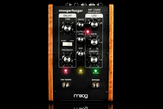 MOOGがMF-104M Analog Delayを発売!
