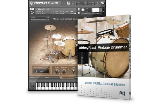 Native Instruments 拡張音源「ABBEY ROAD VINTAGE DRUMMER」を発売!