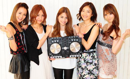 美人時計とreloopのコラボサイト「bijin-DJ育成計画」!