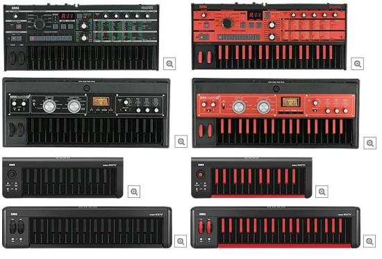 microKORG誕生10周年を記念したmicroシリーズ限定カラー・バリエーション・モデルが登場!