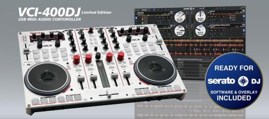 Vesax PCDJコントローラ VCI-400DJを発売!