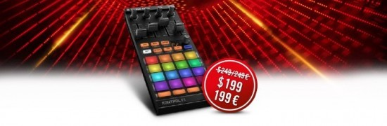Native Instruments TRAKTOR KONTROL F1が20,800円にプライスダウン