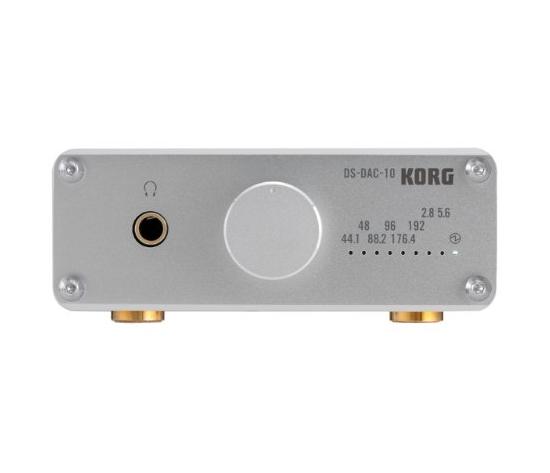 KORG DS-DAC-10にシルバーバージョンが登場!