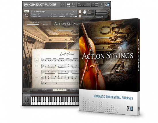 Native Instrumentsから拡張音源「ACTION STRINGS」が発表されました!