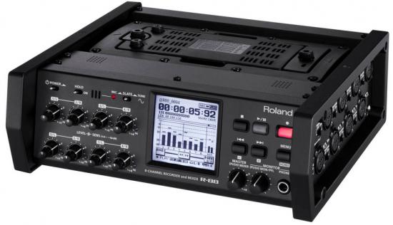 Rolandから8ch入力のポータブルレコーダー「R-88」が発表されました!