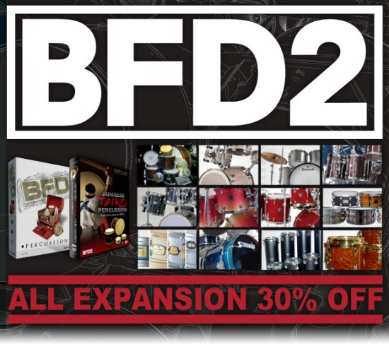 すべてのBFD / BFD Eco拡張音源が 30%OFF!! 6月30日まで。
