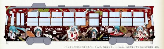 好きな人にはたまらないイベント「SNOW MIKU 2013」開催中!