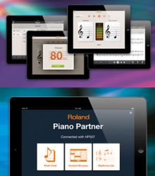 Piano Partner for iPad ピアノ演奏やレッスンをサポートするiPad専用アプリ。