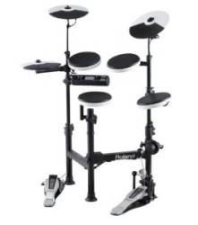 Roland 折りたたんで持ち運べる電子ドラム「TD-4KP-S」を発売!