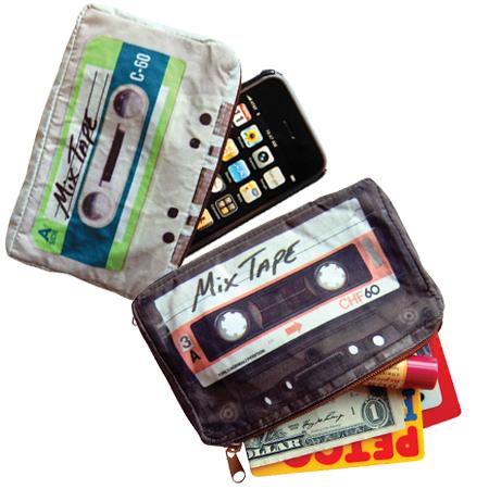 かわいいカセットテープな小物入れ