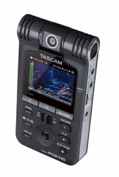Tascamの高音質動画撮影PCM/HDビデオレコーダー「DR-V1HD」!