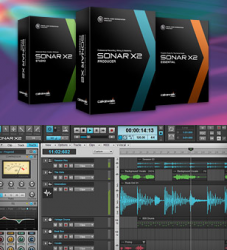 SONAR X2 Music Production Software