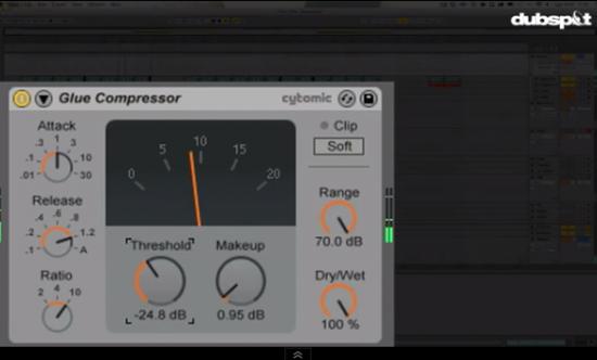 DubspotがAbleton Live9の新しいGlue Compressorのチュートリアル動画を公開!