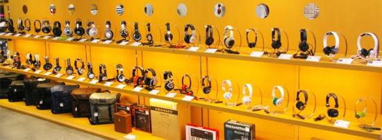 DMR渋谷店でヘッドホンを自由に『 試着 & 試聴 』できるようになりました!