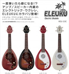 ELEUKU 33 Concert エレクトリック・ウクレレ