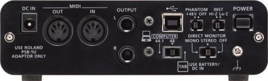 Roland USBオーディオ・インターフェース「DUO-CAPTURE EX」発売!