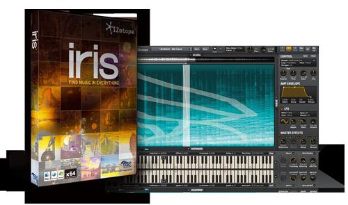 iZotope「iris」が期間限定で ¥15,750のスペシャルプライス!
