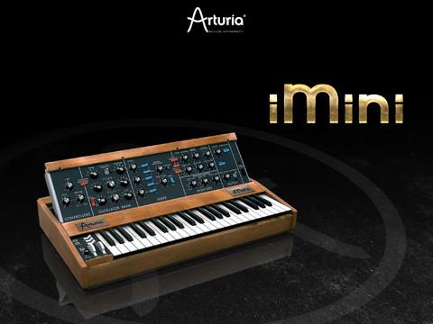 Arturia minimoogをシミュレートしたiOSアプリ「iMini」