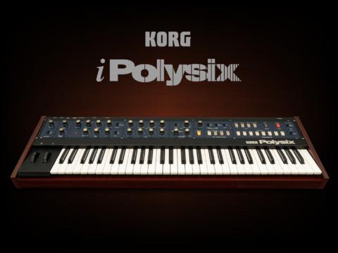 KORG 「iPolysix for iPad」発売記念50%OFF・年末スペシャル・セール実施中!