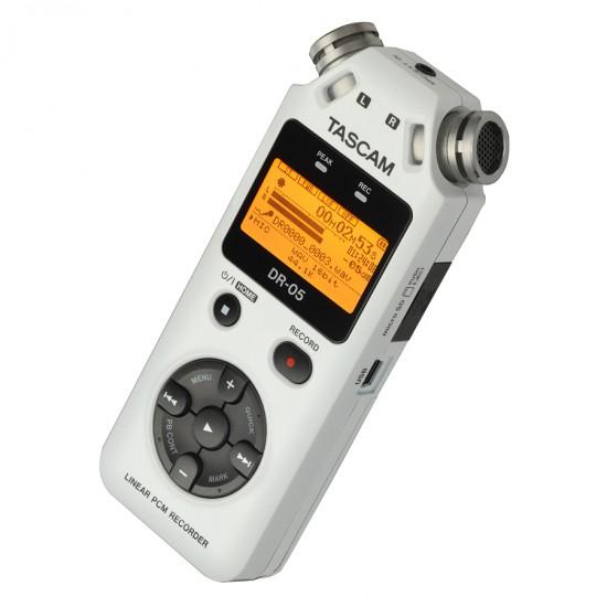TASCAM 24bit/96kHz対応リニアPCMレコーダーDR-05の限定ホワイトカラーを発売!