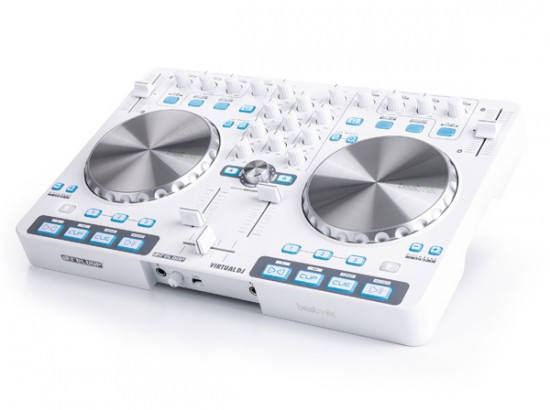 数量限定:Reloop シンプルなDJコントローラ「BEATMIX」のホワイトカラー発売!