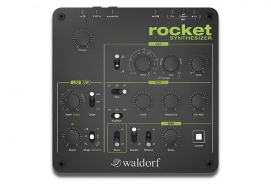 Waldorf コンパクトなシンセサイザ「Rocket」を発売!