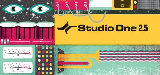 PreSonus Studio One Ver 2.5をリリース!