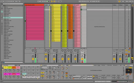 Ableton Audio Elements - Waveformsの無償Live Packを公開!