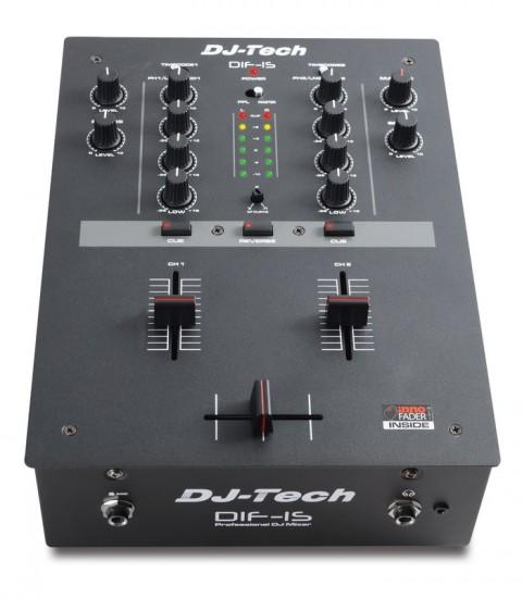 DJ-Tech 2chのDJミキサー「DIF-1S」発売!