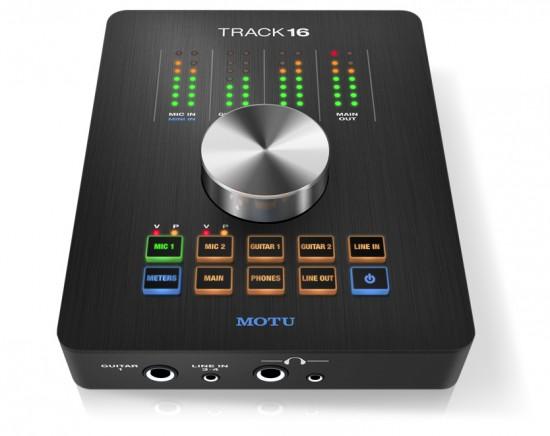 MOTU Track16の情報公開!
